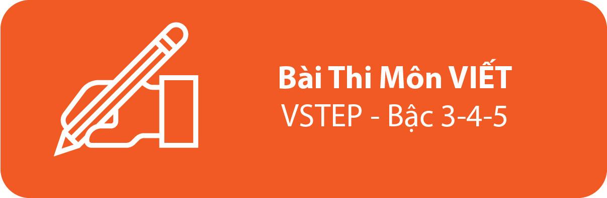 Bài Thi Thử Tiếng Anh B1 B2 Môn VIẾT– VSTEP - Bậc 3-4-5