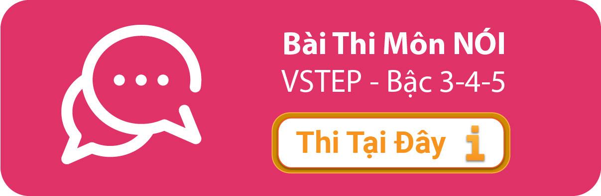 Bài thi thử tiếng anh b1 b2 vstep online môn nói